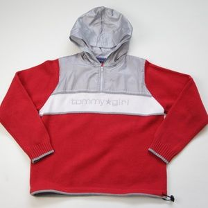 Tommy Girl by Tommy Hilfiger Knit Red Sweater